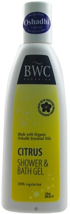 DROPPED: Beauty Without Cruelty - Shower & Bath Gel Citrus - 7 oz. CLEARANCE PRICED