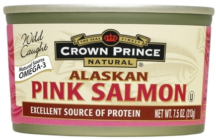 DROPPED: Crown Prince Natural - Alaskan Pink Salmon - 7.5 oz.