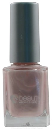 DROPPED: Beauty Without Cruelty - High Gloss Nail Color Pink Shimmer 15 - 11 ml. CLEARANCE PRICED