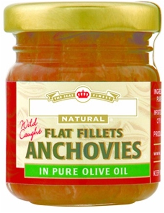 DROPPED: Crown Prince Natural - Flat Fillets Anchovies - 1.5 oz.