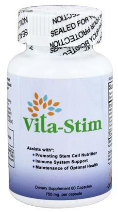 Emergent Health - Vita-Stim Stem Cell Nutrition 750 mg. - 60 Capsules