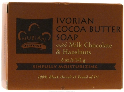 DROPPED: Nubian Heritage - Bar Soap Ivorian Cocoa Butter - 5 oz.