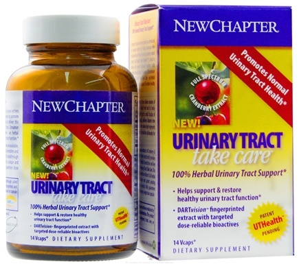 DROPPED: New Chapter - Urinary Tract Take Care - 14 Vegetarian Capsules