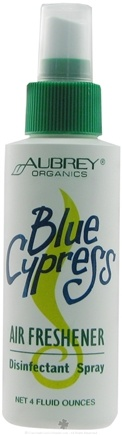 DROPPED: Aubrey Organics - Blue Cypress Air Freshener - 4 oz.