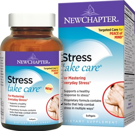 New Chapter - Stress Take Care - 60 Softgels