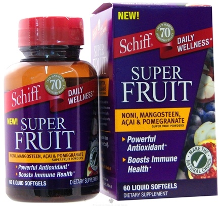 DROPPED: Schiff - Super Fruit - 60 Softgels