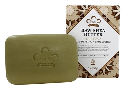 Nubian Heritage - Bar Soap Raw Shea Butter - 5 oz.
