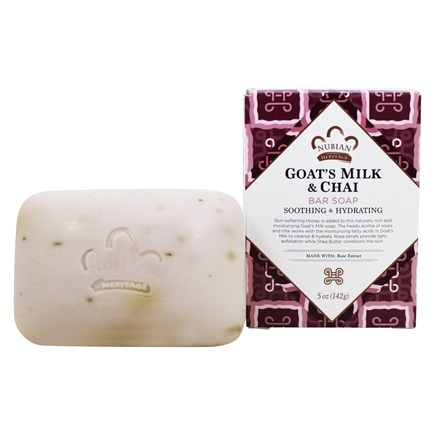 Nubian Heritage - Bar Soap Goat's Milk & Chai - 5 oz.
