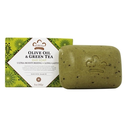 Nubian Heritage - Bar Soap Olive & Green Tea - 5 oz.