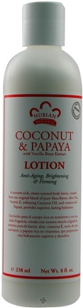 DROPPED: Nubian Heritage - Lotion Coconut & Papaya - 8 oz.