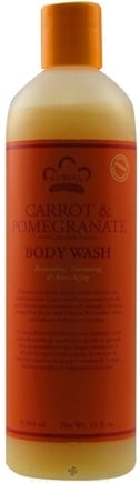 DROPPED: Nubian Heritage - Body Wash Carrot & Pomegranate - 13 oz. CLEARANCE PRICED