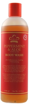DROPPED: Nubian Heritage - Body Wash Peppermint & Aloe - 13 oz.
