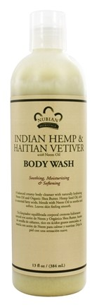 Nubian Heritage - Body Wash Indian Hemp & Haitian Vetiver - 13 oz.