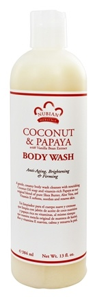 Nubian Heritage - Body Wash Coconut & Papaya - 13 oz.