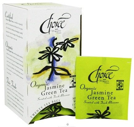 DROPPED: Choice Organic Teas - Gourmet Jasmine Green Tea - 20 Tea Bags