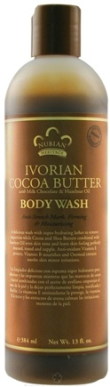 DROPPED: Nubian Heritage - Body Wash Ivorian Cocoa Butter - 13 oz.