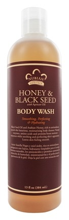 Nubian Heritage - Body Wash Honey & Black Seed - 13 oz.