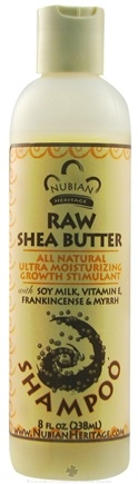 DROPPED: Nubian Heritage - Shampoo Raw Shea Butter - 8 oz.