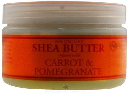 DROPPED: Nubian Heritage - Shea Butter Infused With Carrot & Pomegranate - 4 oz. CLEARANCE PRICED