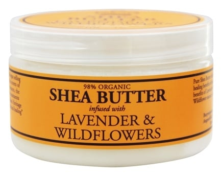 Nubian Heritage - Shea Butter Infused With Lavender & Wildflowers - 4 oz.