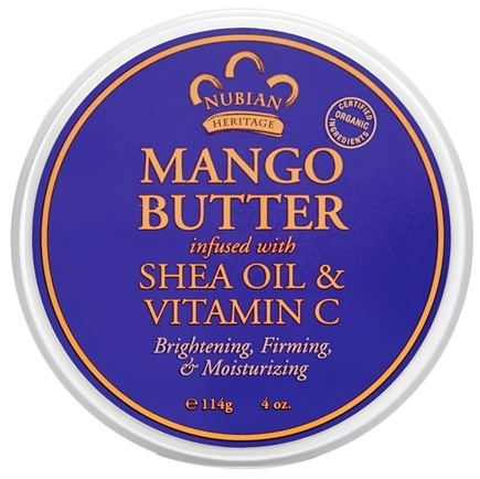 DROPPED: Nubian Heritage - Mango Butter Infused With Shea Oil & Vitamin C - 4 oz. CLEARANCE PRICED