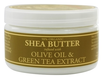 Nubian Heritage - Shea Butter Infused With Olive Oil & Green Tea Extract - 4 oz.