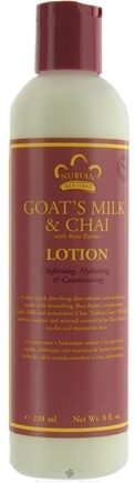 DROPPED: Nubian Heritage - Lotion Goat's Milk & Chai - 8 oz.