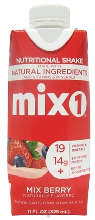DROPPED: Mix1 - All-Natural Protein & Antioxidant Drink Mix Berry - 11 oz.