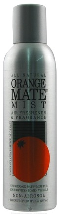 DROPPED: Orange Mate - Orange Mate Mist Air Freshener and Fragrance - 7 oz.