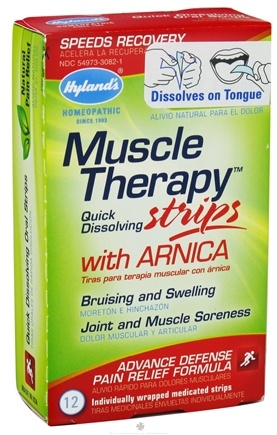 DROPPED: Hylands - Muscle Therapy Strips with Arnica - 12 Strip(s)