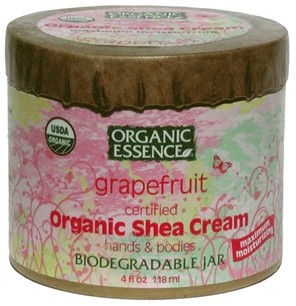 DROPPED: Organic Essence - Organic Shea Cream Grapefruit - 4 oz.