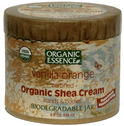 DROPPED: Organic Essence - Organic Shea Cream Vanilla Orange - 4 oz.