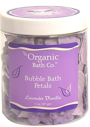 DROPPED: Organic Bath Company - Bubble Bath Petals Lavender Vanilla - 3 oz.