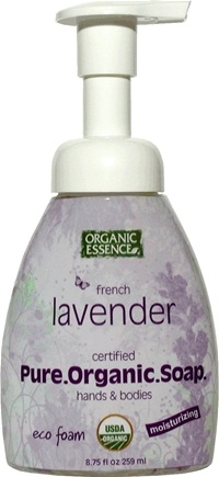 DROPPED: Organic Essence - Pure Organic Soap French Lavender - 8.75 oz.