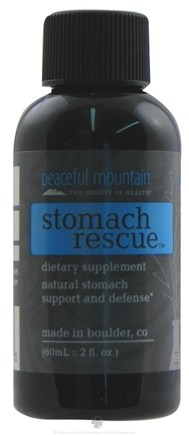 DROPPED: Peaceful Mountain - Stomach Rescue - 2 oz. CLEARANCE PRICED