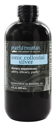 Peaceful Mountain - Ionic Colloidal Silver - 6 oz.