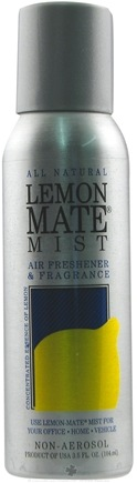 DROPPED: Orange Mate - Lemon Mate Mist Air Freshener and Fragrance - 3.5 oz.