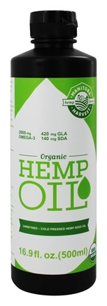Manitoba Harvest - Organic Hemp Oil - 16.9 oz.