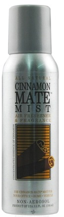 DROPPED: Orange Mate - Cinnamon Mate Mist Air Freshener and Fragrance - 3.5 oz.