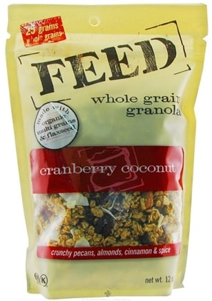 DROPPED: Feed Granola - Whole Grain Granola Cranberry Coconut - 12 oz.
