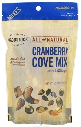 DROPPED: Woodstock Farms - All-Natural Cranberry Cove Mix - 10 oz.