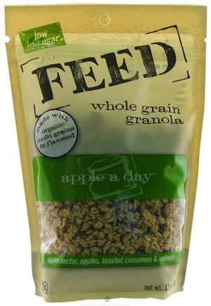 DROPPED: Feed Granola - Whole Grain Granola Apple A Day - 12 oz.