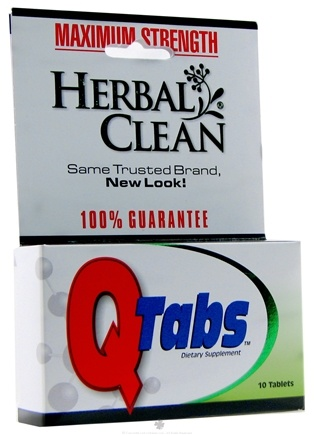 DROPPED: BNG Enterprises - Herbal Clean Q Tabs Maximum Strength - 10 Tablets