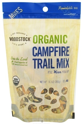 DROPPED: Woodstock Farms - Organic Campfire Trail Mix - 10 oz.
