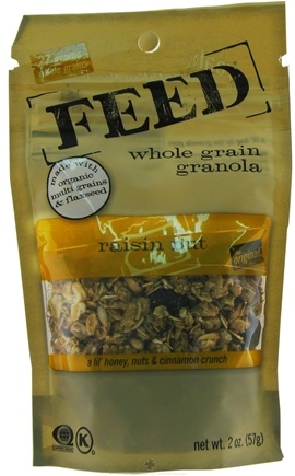 DROPPED: Feed Granola - Whole Grain Granola Raisin Nut - 2 oz.