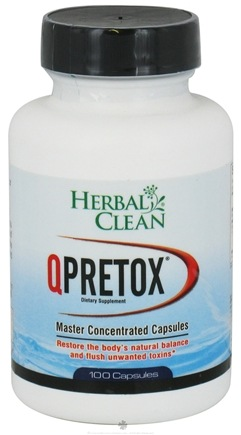 DROPPED: BNG Enterprises - Herbal Clean Q Pretox - 100 Capsules CLEARANCE PRICED