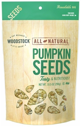 Woodstock Farms - All-Natural Pumpkin Seeds Raw - 11 oz.