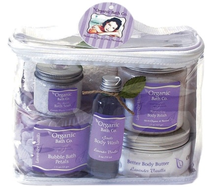 DROPPED: Organic Bath Company - Instant Spa Gift Set Lavender Vanilla CLEARANCE PRICED