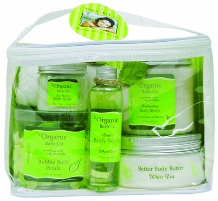 DROPPED: Organic Bath Company - Instant Spa Gift Set White Tea - CLEARANCE PRICED