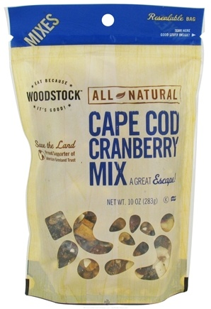 DROPPED: Woodstock Farms - All-Natural Cape Cod Cranberry Mix - 10 oz.